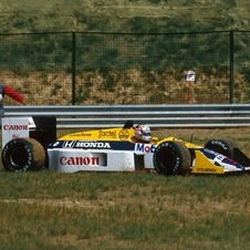 Williams FW11B Honda