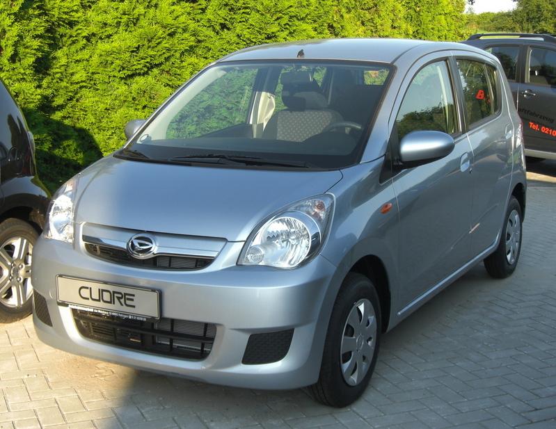 Daihatsu Cuore Automatic :: 2 photos and 78 specs :: autoviva.com