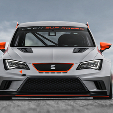 The Seat Leon Cup Racer will be ready to race for 2014