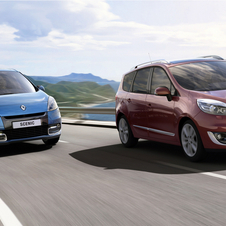 Renault Scenic and Grand Scenic Refreshed and Fuel Economy Improved