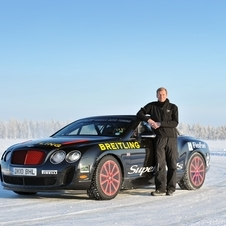Four-time WRC champion Juha Kankkunen leads the program for Bentley