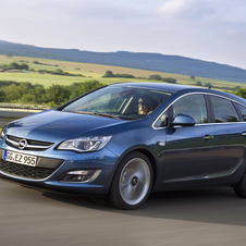 The 1.6 SIDI Tourer is for the Astra four-door, five-door and Sports Tourer