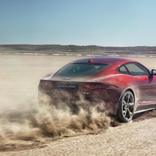 The F-Type R Coupé AWD will be able to reach 96km/h in 3.9 seconds and a limited top speed of 300 km/h