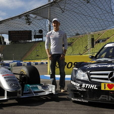Rosberg was also at the car presentation for the DTM cars in Munich