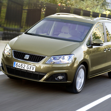 Seat Alhambra 2.0 TDI CR 140hp Reference