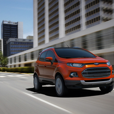 The EcoSport will go on sale in a few months