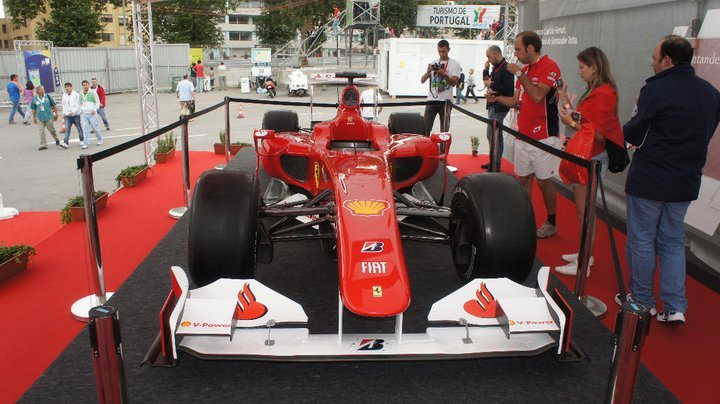 2010 Ferrari F10 at the WTCC in Oporto, Portugal (Paddock)