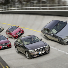 By removing the CLK, the E-Class now appears huge