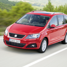 Seat Alhambra 2.0 TDI CR 140hp Reference DSG