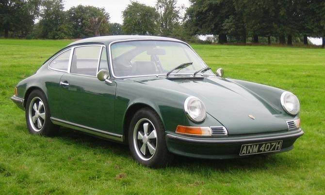 Porsche 911E Sportomatic. more photos