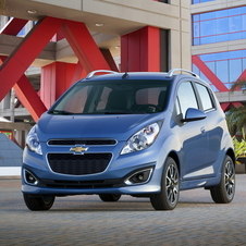 Chevrolet Spark 2LT AT