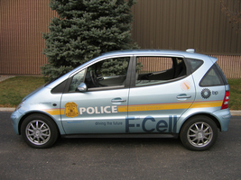 Mercedes-Benz F-Cell Police