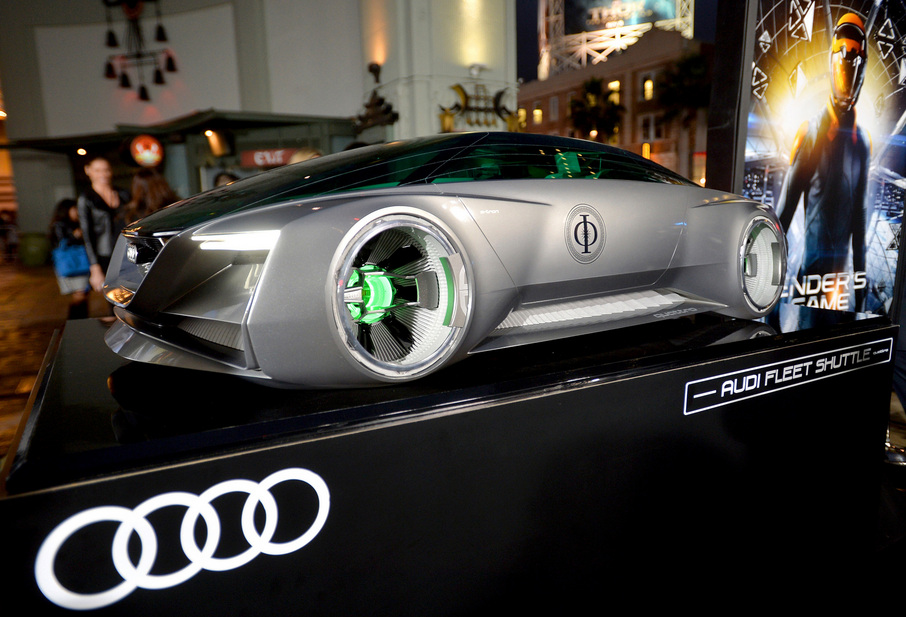 Audi Builds Fleet Shuttle for \'Ender\'s Game\' Premiere :: News ...