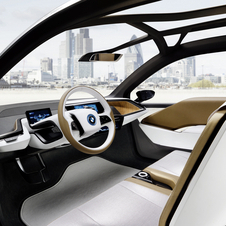 Interior do BMW i3