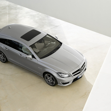 The CLS Shooting Brake one the overall Design Trophy 2013