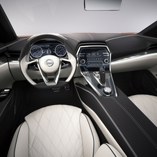 The interior is also based on a future production car