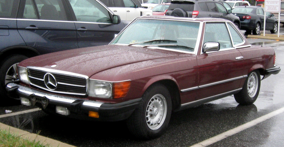 Mercedes-Benz 380 SLC