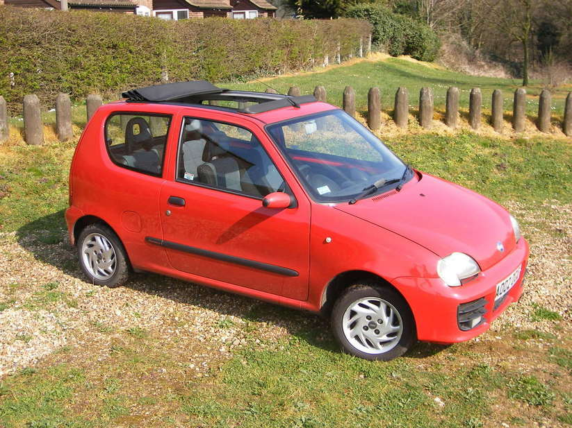 Fiat Seicento Sporting Red Fiat Seicento Sporting 2
