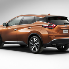 Compared to the previous generation, the new Murano is slightly lower, wider and longer
