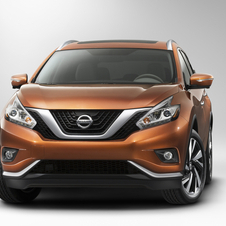 The Murano gets a new V-shaped grille, which has been introduced on all brand new models