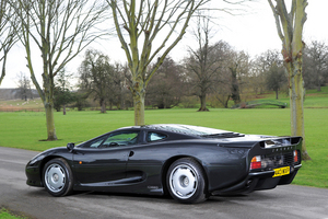 The release of the McLaren F1 in 1994 overshadowed the XJ220