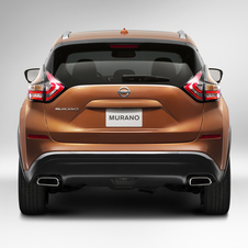 At launch, the new Murano will be offered with a 3.5 V6 petrol engine of 260hp coupled with an X- tronic CVT