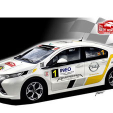 Opel Ampera Will Race in IRC Rally Monte Carlo