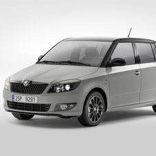 The Fabia Reaction adds charcoal and black trim.
