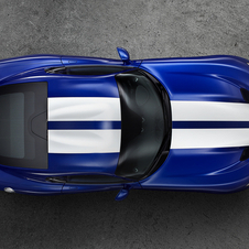 The new Viper has the same 8.4-liter V10 as the previous generation