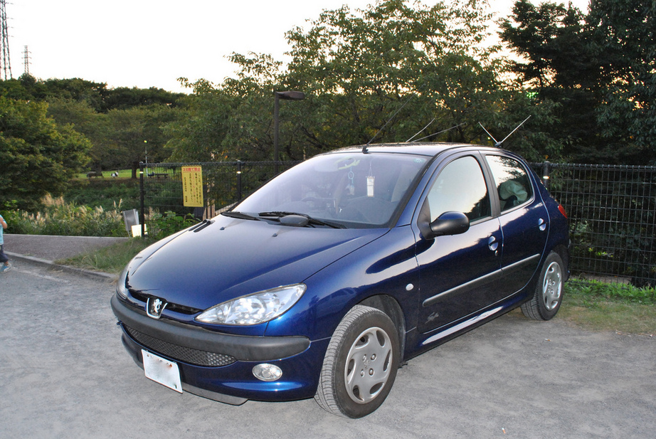 peugeot 206 1 1 xr 1 photo and 59 specs