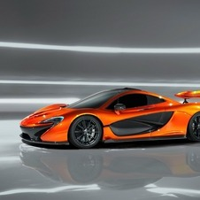The wing includes a movable element like the MP4-12C