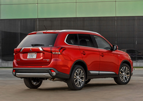 Mitsubishi did not reveal data on the range of engines available with the new Outlander