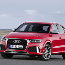 The RS Q3 saw the output of its  2.5-liter, five-cylinder engine increased by 30hp to 340hp