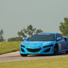 It will be the first time that Acura will drive the car publicly