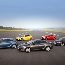 Opel also recently introduced the four-door sedan Astra