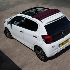 Peugeot 108 TOP Allure 1.2 Pure Tech