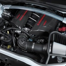 The engine is the 7.0-liter V8 from the Camaro Z06