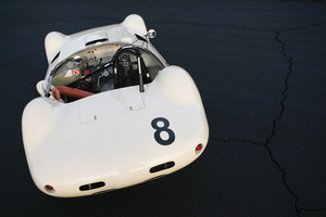 The car took a class win at the 1962 12 Hours of Sebring with the company founder as a member of the driving squad