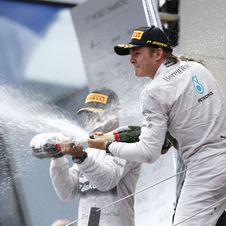 Rosberg segue no comando isolado do campeonato