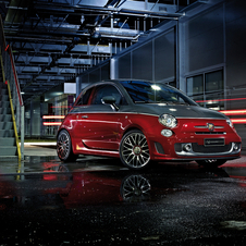 The Abarth 595 Turismo gets extra aluminum trim