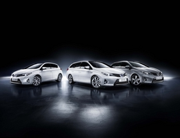 Sales of the Auris range are up, but the hybrid versions are making up a larger portion