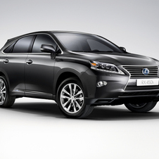 The RX is the bestselling Lexus in Europe