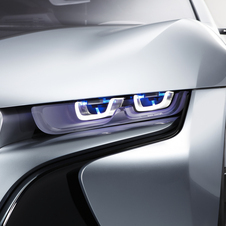 BMW i8 Concept to Be First BMW with Laser-Powered Headlights