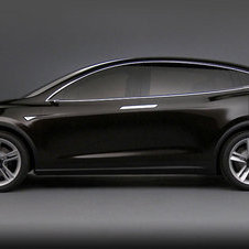 The early concepts for the Tesla Model X had no side mirrors