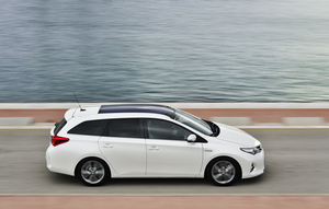 The Auris Hybrid Touring Sports already had the upgrades that are being applied to the Auris