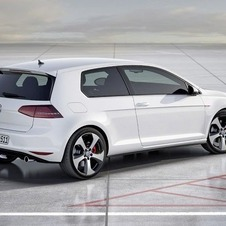 The GTI gets dual rear exhausts