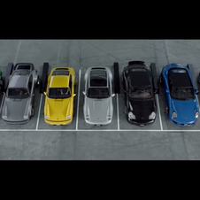 The video showcases all generations of the 911
