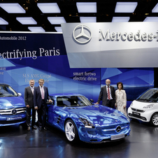 Mercedes is also seen as a brand for older buyers