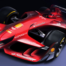 Ferrari decided that it is still possible to create a Formula 1 beautiful and at the same time effective