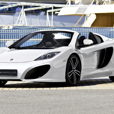 Gembella Tunes McLaren 12 C Spider Into the 617hp GT Spider